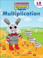 Scholastic Learning Express Level 2: Multiplication (Enhan