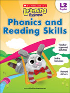 Scholastic Learning Express Level 2: Phonics and Reading S