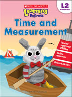 Scholastic Learning Express Level 2: Time and Measurement (Enhanced eBook)