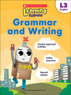 Scholastic Learning Express Level 3: Grammar and Writing (Enhanced eBook)