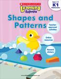 Scholastic Learning Express: Shapes and Patterns: Kindergarten - Grade 1 (Enhanced eBook)