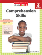 Scholastic Study Smart Comprehension Skills Level 6 (Enhan