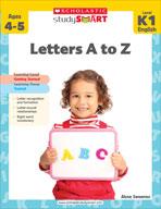 Scholastic Study Smart: Letters A to Z: Kindergarten - Gra