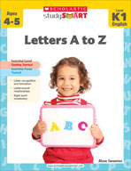 Scholastic Study Smart: Letters A to Z: Kindergarten - Grade 1 (Enhanced eBook)