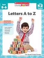 Scholastic Study Smart: Letters A to Z: Kindergarten - Grade 2 (Enhanced eBook)