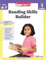 Scholastic Study Smart: Reading Skills Builder: Level 1 (E