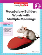 Scholastic Study Smart Vocabulary Builder: Words with Multiple Meanings Level 3-4 (Enhanced eBook)