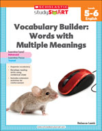 Scholastic Study Smart Vocabulary Builder: Words with Multiple Meanings Level 5-6 (Enhanced eBook)