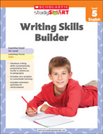 Scholastic Study Smart Writing Skills Builder Level 5