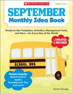 September Monthly Idea Book