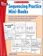 Sequencing Practice Mini-Books: Grades K-1 (Enhanced eBook)