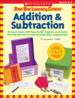 Shoe Box Learning Centers: Addition and Subtraction (Enhanced eBook)