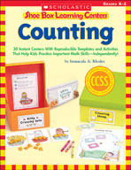 Shoe Box Learning Centers: Counting (Enhanced eBook)