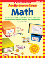 Shoe Box Learning Centers: Math (Enhanced eBook)