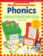 Shoe Box Learning Centers: Phonics (Enhanced eBook)