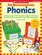 Shoe Box Learning Centers: Phonics (Enhanced eBook)