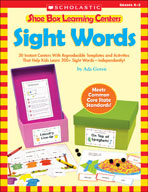 Shoe Box Learning Centers: Sight Words
