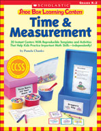 Shoe Box Learning Centers: Time and Measurement (Enhanced eBook)