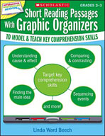 Short Reading Passages With Graphic Organizers to Model and Teach Key Comprehension Skills: Grades 2-3 (Optimized eBook)