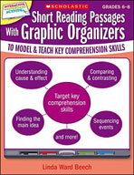 Short Reading Passages With Graphic Organizers to Model and Teach Key Comprehension Skills: Grades 6-8 (Optimized eBook)