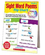 Sight Word Poems Flip Chart (Enhanced eBook)