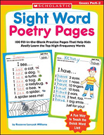 Sight Word Poetry Pages (Enhanced eBook)