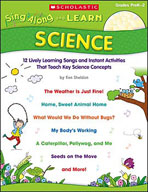 Sing-Along and Learn: Science (Enhanced eBook)