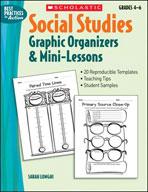 Social Studies Graphic Organizers & Mini-Lessons (Enhanced eBook)