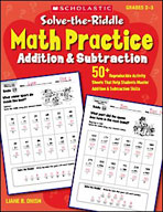 Solve-the-Riddle Math Practice: Addition and Subtraction