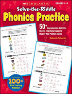 Solve-the-Riddle Phonics Practice (Enhanced eBook)