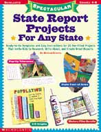 Spectacular State Report Projects For Any State! (Enhanced eBook)