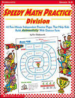 Speedy Math Practice: Division (Enhanced eBook)
