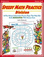 Speedy Math Practice: Division (Enhanced eBook)