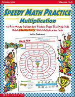 Speedy Math Practice: Multiplication (Enhanced eBook)