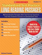 Standardized Test Practice: Long Reading Passages: Grades 3-4