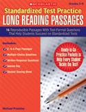 Standardized Test Practice: Long Reading Passages: Grades 5-6 (Enhanced eBook)