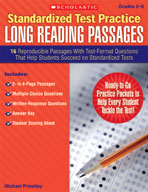 Standardized Test Practice: Long Reading Passages: Grades 5-6 (Enhanced eBook)