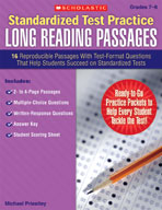 Standardized Test Practice: Long Reading Passages: Grades 7-8