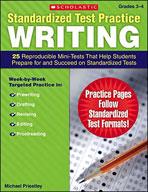Standardized Test Practice: Writing: Grades 3-4 (Enhanced eBook)