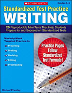 Standardized Test Practice: Writing: Grades 5-6 (Enhanced eBook)