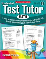 Standardized Test Tutor: Math (Grade 5) (Enhanced eBook)