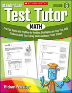 Standardized Test Tutor: Math (Grade 6)