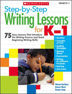 Step-by-Step Writing Lessons for Kindergarten - Grade 1 (Enhanced eBook)