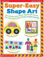 Super-Easy Shape Art (Enhanced eBook)
