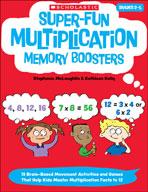 Super-Fun Multiplication Memory Boosters