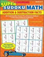 Super Sudoku Math: Addition and Subtraction Facts (Enhance