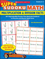 Super Sudoku Math: Multiplication & Division Facts
