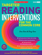 Targeted Reading Interventions for the Common Core: Grades 4-8 (eBook)