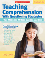 Teaching Comprehension With Questioning Strategies That Motivate Middle School Readers (Enhanced eBook)