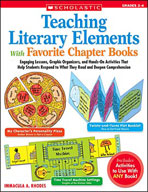 Teaching Literary Elements With Favorite Chapter Books (Enhanced eBook)
